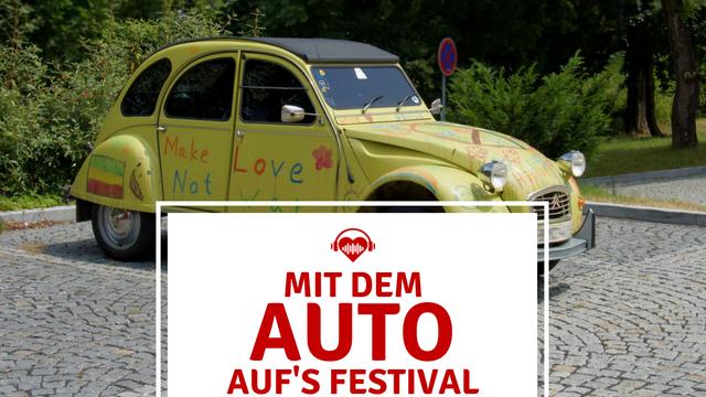Festival Anreise mit dem Auto