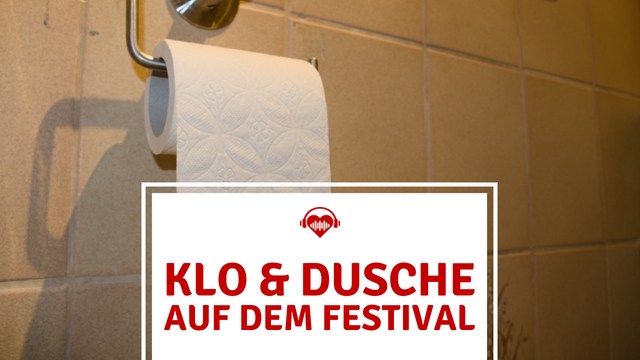 Festival Sanitäranlagen Klo Dusche Toilettenpapier