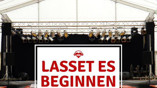 Festival startet Bühne