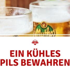 Festival Bier kühlen PIls
