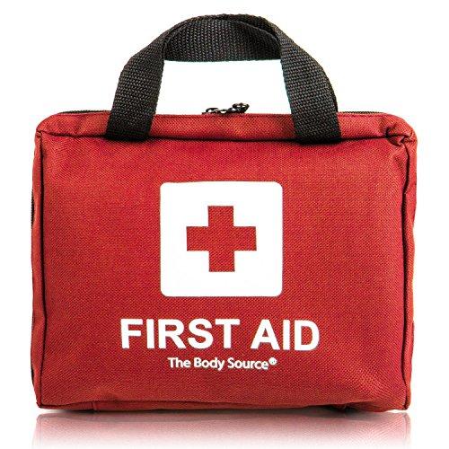 90-teiliges Erste-Hilfe-Set mit Kühlakkus, Augenspülung und Rettungsdecke