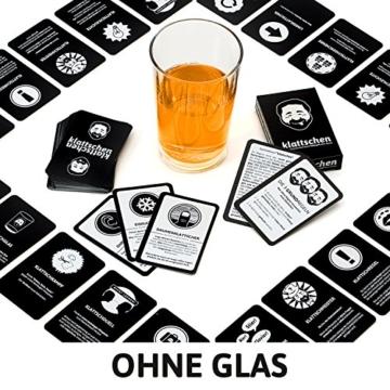 klattschen - Das wahrscheinlich beste Trinkspiel aller Zeiten - Spiel für Erwachsene