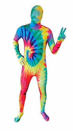 Morphsuit Kostüm Hippie - psychodelische Muster