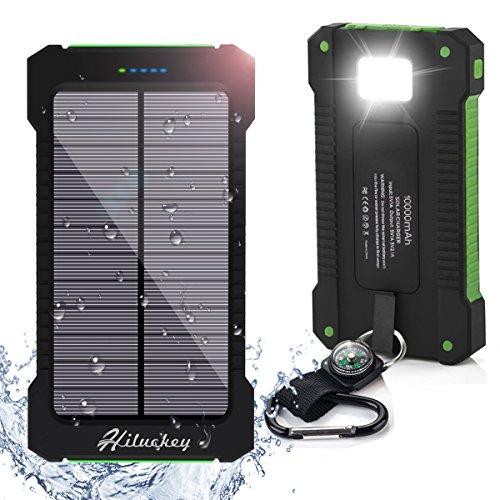 Powerbank: Externer Akku mit Eingebauter LED Taschenlampe