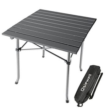 Aluminium Camping Multifunktionstisch (52x52x49CM)