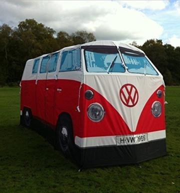 Retro VW Bus Camper Zelt 1:1 Nachbildung Rot