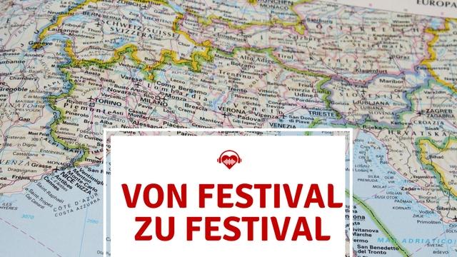 Festival Länder Landkarte