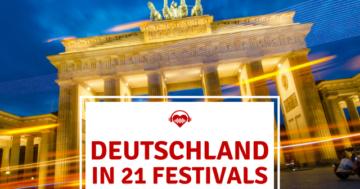 Festivals Deutschland Brandenburger Tor