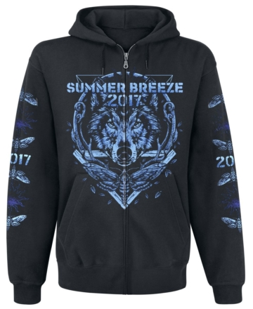 Summer Breeze Hunter Kapuzenjacke schwarz