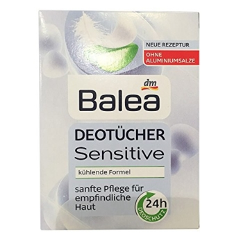 Balea DeoTücher Sensitive mit Aloe Vera (10St)