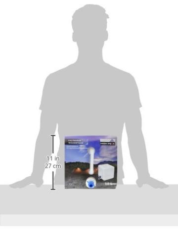 High Peak Wassertank faltbar 15L, transparent, 25 x 25 x 12 cm, 41460 - 2