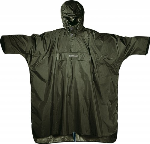 Pro-X Elements Regen-Poncho Matterhorn (M, Jagdgrün)
