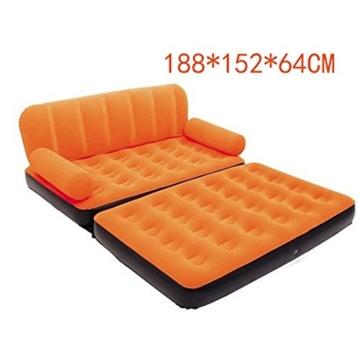 BDASDF Modernes aufblasbare Schlafsofa, Orange